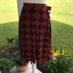 2XL LuLaRoe Madison Skirt